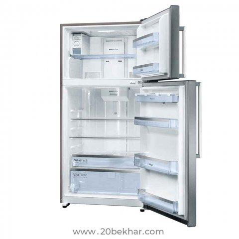 یخچال و فريزر بوش مدل KDD74AW204