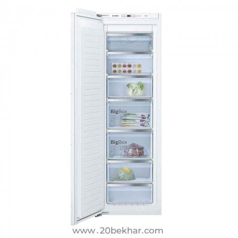 یخچال و فریزر دوقلو توکار بوش مدل KIR81AF30-GIN81AE30