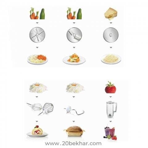 غذاساز حرفه ای بوش مدل MUM58720