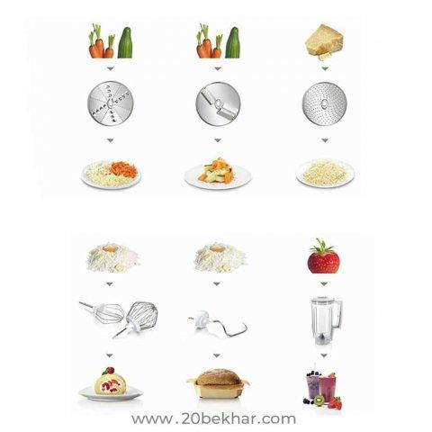 غذاساز حرفه ای بوش