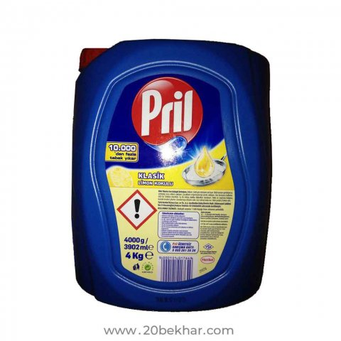 مایع ظرفشویی پریل 4 لیتر