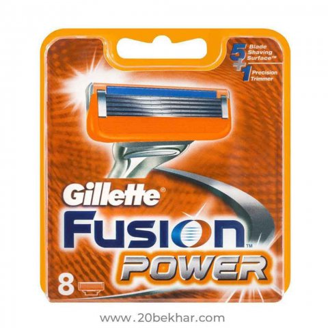 تیغ یدک ژیلت مدل Fusion Power