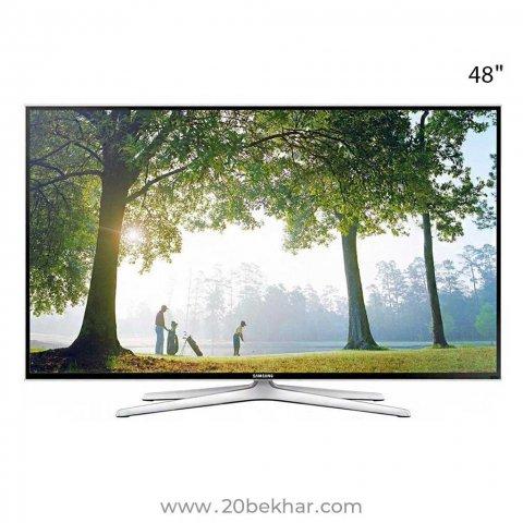 تلویزیون ال ای دی هوشمند سامسونگ 48 اینچ مدل 48J6390