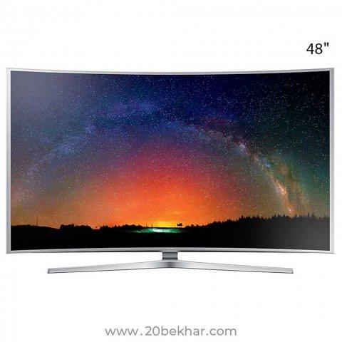 تلویزیون ال ای دی هوشمند خمیده سامسونگ 48 اینچ مدل 48KSC9990