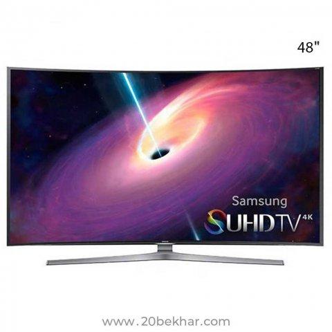 تلویزیون ال ای دی هوشمند خمیده سامسونگ 48 اینچ مدل 48JSC9990