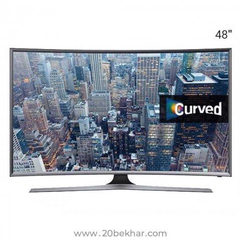تلویزیون ال ای دی هوشمند خمیده سامسونگ 48 اینچ مدل 48JC6960