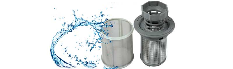 تمیزکردن فیلتر ماشین ظرفشویی