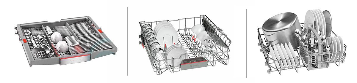 طبقات ماشین ظرفشویی