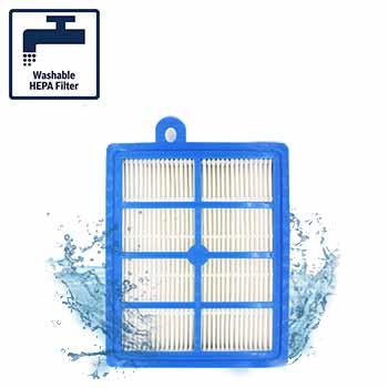 تکنولوژی Washable HEPA Filter در جاروبرقی بوش